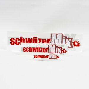 Aufkleber schwiizerMix 3er-Set